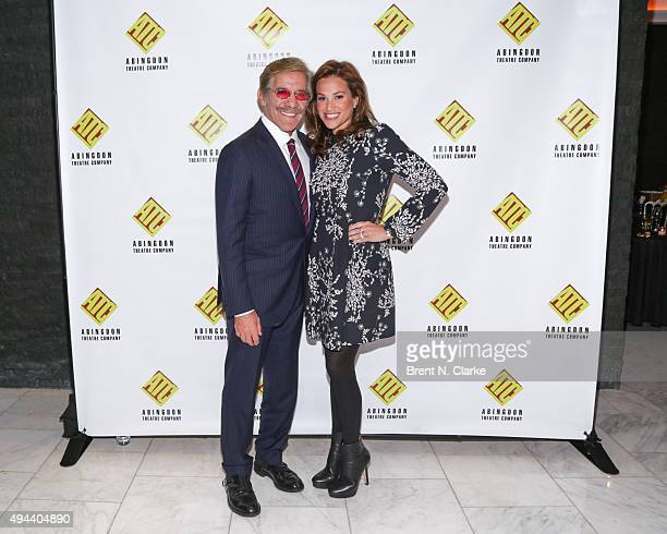 Television journalist Geraldo Rivera and wife Erica Michelle Levy attend the 2015 Abingdon Theatre Company Gala held at Espace on October 26 2015 in...