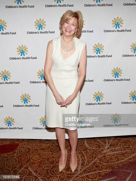 Television journalist Jane Pauley attends the 2010 Children's Health Fund Benefit Gala at The Hilton New York on June 2 2010 in New York City