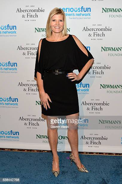 Television journalist Kate Snow attends SeriousFun Children's Network 2016 NYC Gala Arrivals on June 6 2016 in New York City
