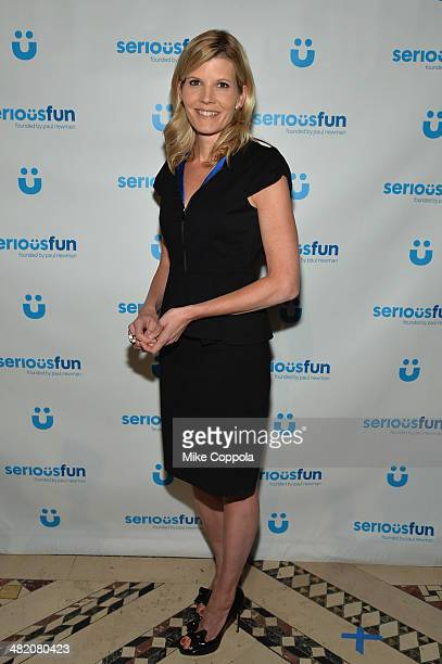 Television journalist Kate Snow attends the SeriousFun Children's Network Gala at Cipriani 42nd Street on April 2 2014 in New York City