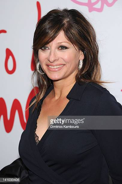 Television journalist Maria Bartiromo attends the 3rd annual Diane Von Furstenberg awards at the United Nations on March 9 2012 in New York City