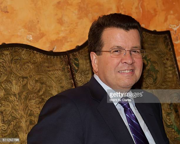 """Television journalist Neil Cavuto attends """"The Last Man on the Moon"""" New York screening held at the Roxy Hotel on February 18, 2016 in New York City."""
