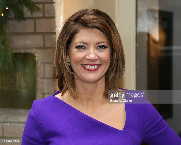 Television journalist Norah O'Donnell attends the 2016 Hearst 100 held at Michael's Restaurant on December 12 2016 in New York City