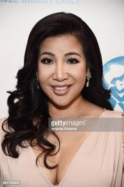 Television medical contributor Dr Jacqueline Thao Nguyen arrives at The Single Mom's Awards presented by Single Moms Planet at The Peninsula Beverly...