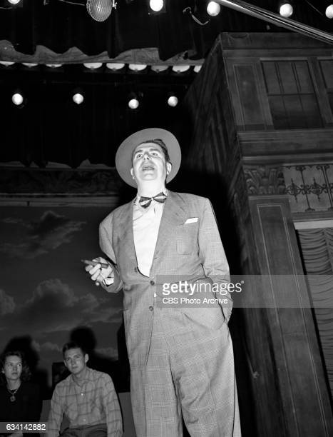 CBS television music and variety program The Ken Murray Show featuring entertainer Ken Murray New York NY Image dated September 23 1949