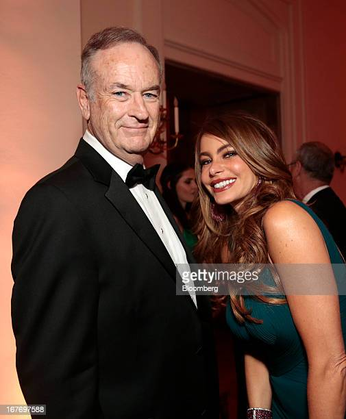 Television news commentator Bill O'Reilly, and actress Sofia Vergara attend the Bloomberg Vanity Fair White House Correspondents' Association dinner...
