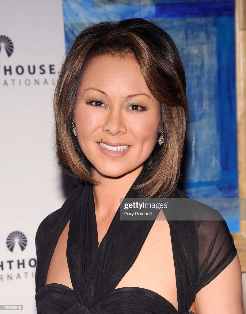 Television news personality Alina Cho attends Lighthouse International's A Posh Affair gala at The Oak Room on May 11, 2010 in New York City.