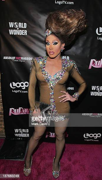 Television participant Phi Phi O'Hara attends 'RuPaul's Drag Race' season 4 premiere party at Eleven Night Club on January 24 2012 in West Hollywood...
