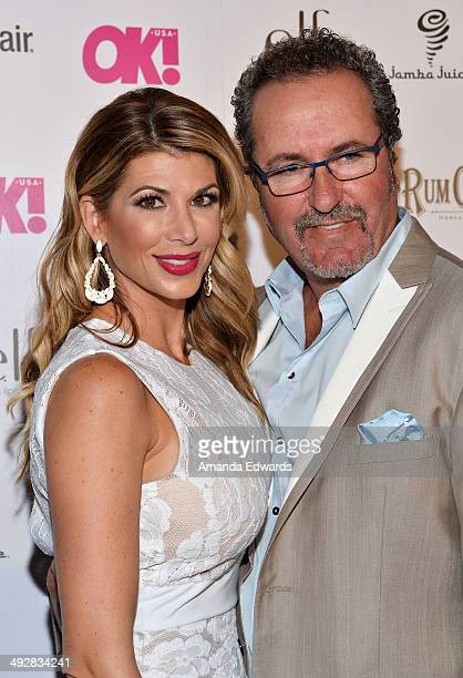 Television personalities Alexis Bellino and Jim Bellino arrive at OK Magazine's So Sexy LA Event at Lure on May 21 2014 in Hollywood California