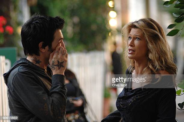 Television personalities Amber Smith and Phil Varone sighting on December 2 2009 in West Hollywood California