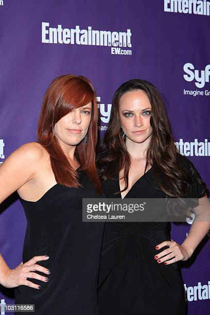 Television personalities Amy Bruni and Kris Williams arrive at the 2010 ComicCon Celebration Hosted By Entertainment Weekly and Syfy at Hotel Solamar...