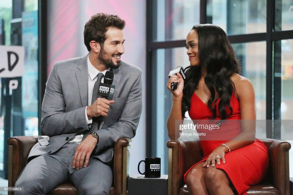 Television Personalities Bryan Abasolo And Rachel Lindsay Visit Build To Discuss Her Show