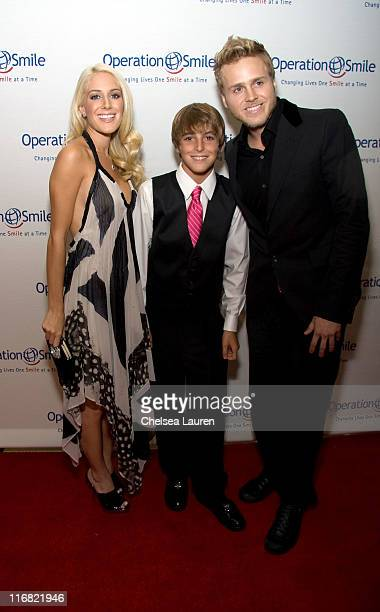 Television personalities Heidi Montag and Spencer Pratt arrive with singer Jackson Guthy at the 7th Annual Operation Smile Gala at the Beverly Hilton...