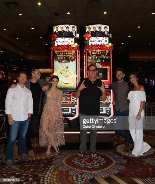 Television personalities Jake Pavelka Ben Higgins Ashley Iaconetti producer/writer Mike Fleiss television personalities Nick Viall and Becca Kufrin...