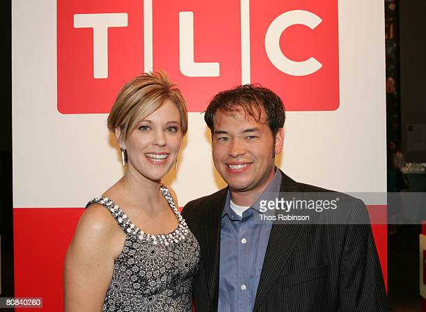 Television personalities John and Kate Gosselin attend the Discovery Upfront Presentation NY Talent Images at the Frederick P Rose Hall on April 23...