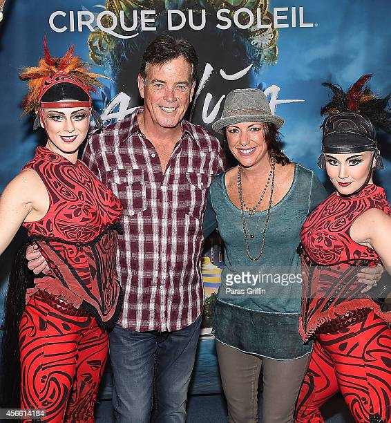 Television personalities John Roberts and Kyra Phillips attend the Atlanta premiere night of Cirque Du Soleil Amaluna at Atlantic Station on October...