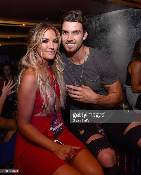 Television personalities JoJo Fletcher and Jordan Rodgers attend the iHeartRadio Music Festival after party at Jewel Nightclub at the Aria Resort...