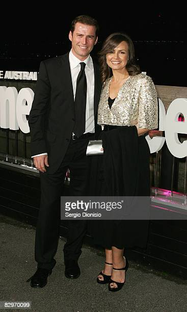 Television personalities Karl Stefanovic and Lisa Wilkinson arrive for the 75th Anniversary celebrations for the Australian Women's Weekly on Fort...