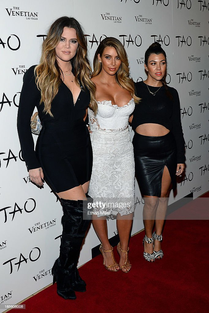Kim Kardashian Celebrates Her Birthday At Tao Nightclub : News Photo