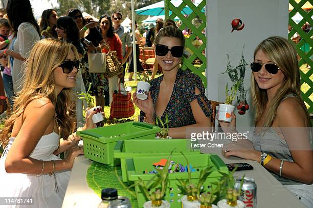 Television personalities Lauren Conrad Whitney Port and Lauren 'Lo' Bosworth at the A Time for Heroes Celebrity Carnival Sponsored by Disney...