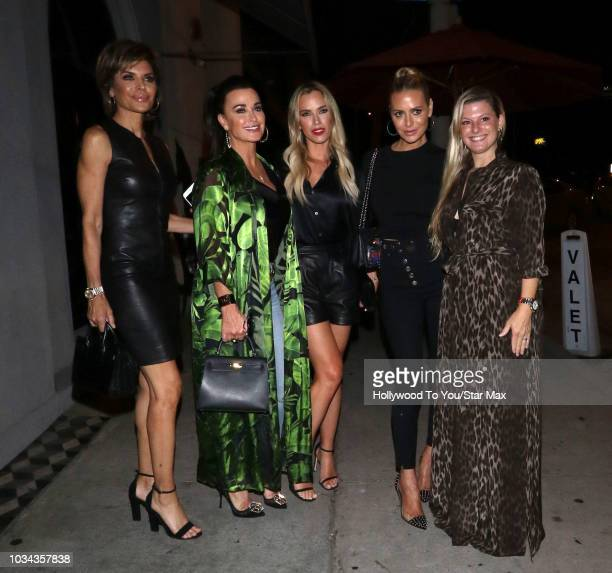 eebc87b9ea6 Television personalities Lisa Rinna and Kyle Richards are seen on September  15 2018 in Los Angeles