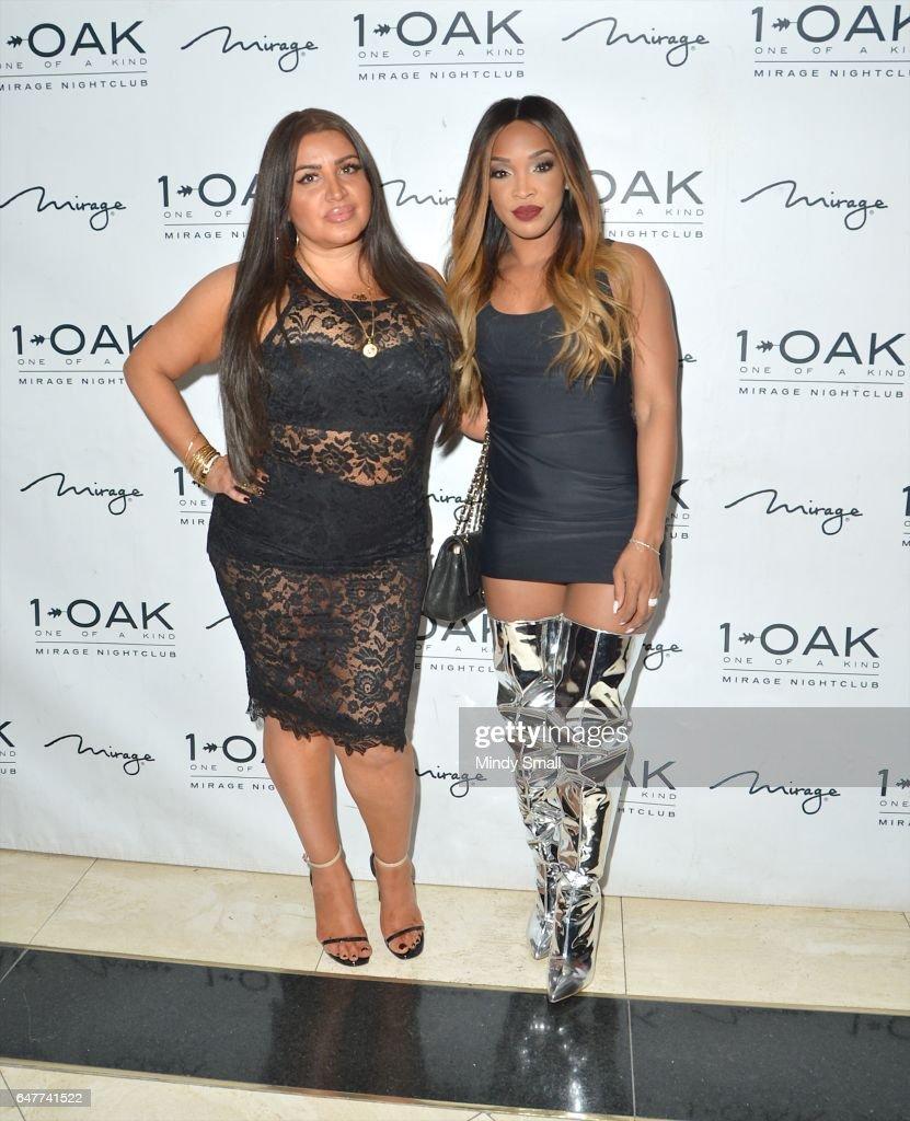Malika Haqq Celebrates 34th Birthday At 1 OAK Nightclub In Las Vegas