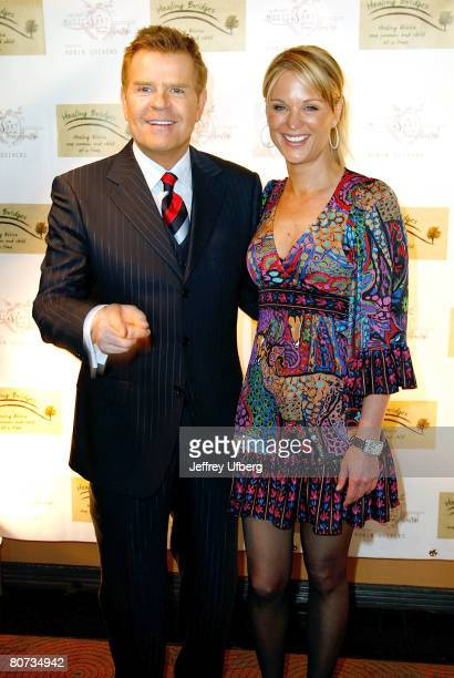 Television personalities Mike Jerrick and Juliet Huddy arriving at the Healing Bridges event hosted by Robin Quivers to benefit Women Children in...