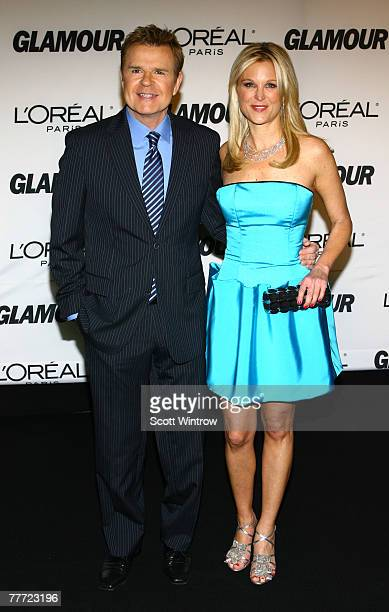 Television personalities Mike Jerrick and Juliet Huddy attend the Glamour Women Of The Year Awards at Lincoln Center's Avery Fisher Hall on November...