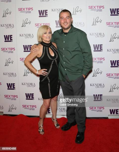 Television personalities Patti Wilkinson and her son Colin Wilkinson attend the premiere of 'Sex Tips for Straight Women from a Gay Man' at the Paris...