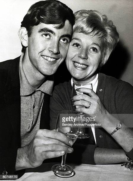 4th October1964 British actor John Alderton with Jill Browne the stars of the TV programme Emergency Ward 10