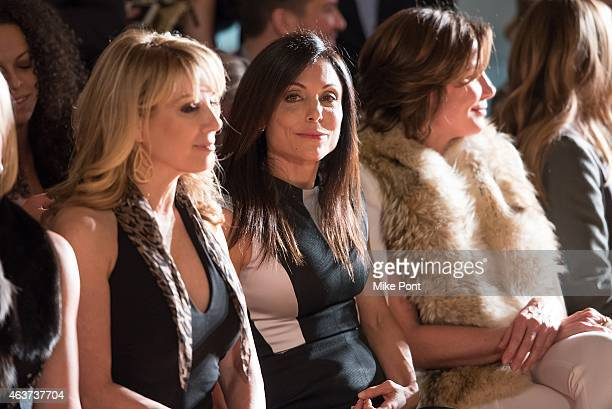 Television personalities Ramona Singer Bethenny Frankel and LuAnn de Lesseps attend the Sonja Morgan New York Brands Launch Event at The Gabarron...