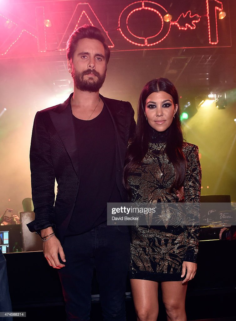 Scott Disick Celebrates His Birthday at 1 OAK Nightclub Las Vegas at The Mirage Hotel & Casino : News Photo