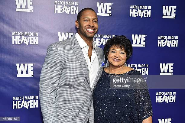 "Television personalities Shawn Bullard and Maggie Bullard attend WE tv's ""Match Made In Heaven"" Preview Screening at the TWELVE Hotel Atlantic..."
