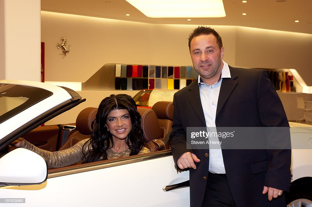 Television Personalities Teresa Giudice And Joe Giudice Attend The  Experience Italy Benefit For Harboring Hearts At