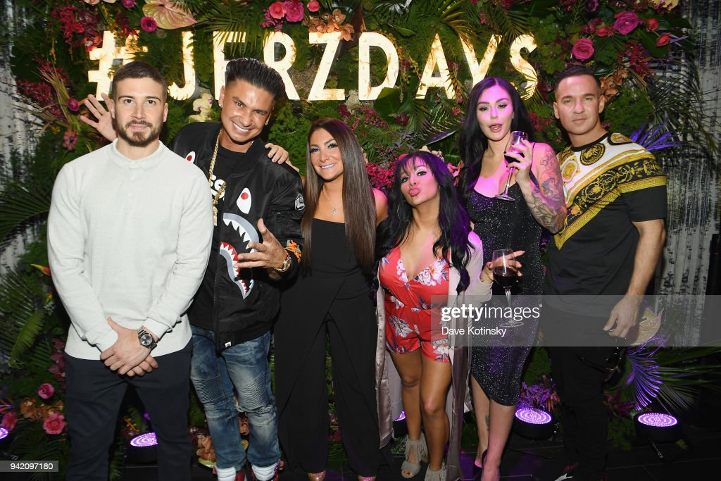 MTV's 'Jersey Shore Family Vacation' New York Premiere Party : News Photo