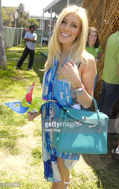 Television personalitiy Heidi Montag attends the 19th Annual 'A Time For Heroes' Benefit for the Elizabeth Glaser Pediatric Aids Foundation held at...