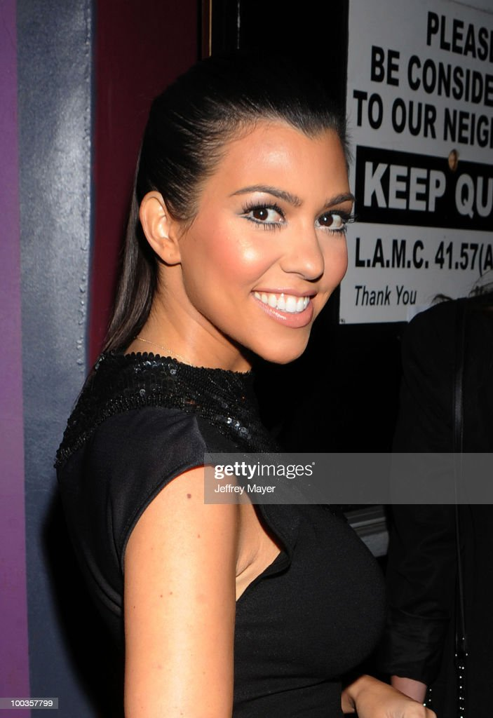 Television Personalitiy Kourtney Kardashian arrives at the Svedka Vodka's 'R.U. Bot Or Not?' Battle Of The Bots party held at Wonderland on May 22, 2010 in Los Angeles, California.