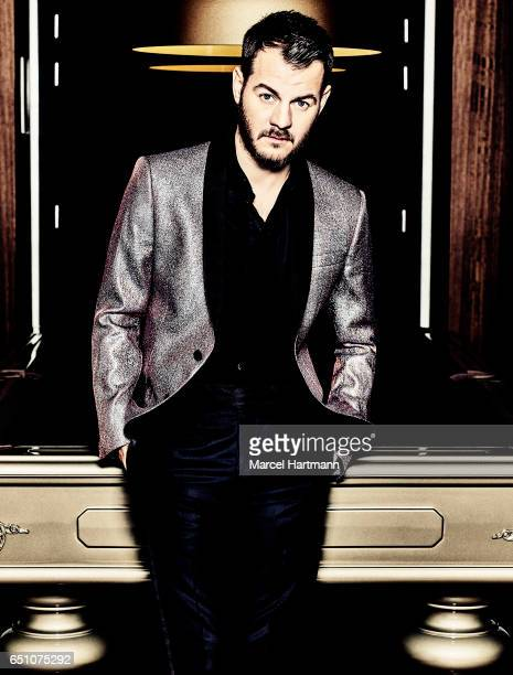 Television personality Alessandro Cattelan is photographed for Vanity Fair on February 16 2016 in Paris France