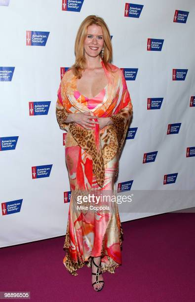 Television personality Alex McCord attends The American Cancer Society's 2010 Pink and Black Tie Gala at Steiner Studios on May 6, 2010 in the...