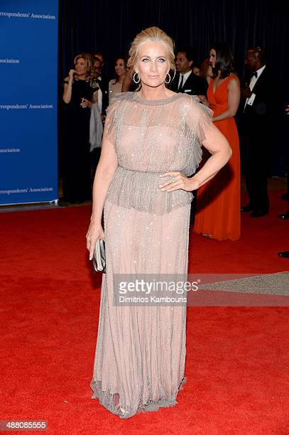 Television personality Alex Witt attends the 100th Annual White House Correspondents' Association Dinner at the Washington Hilton on May 3 2014 in...