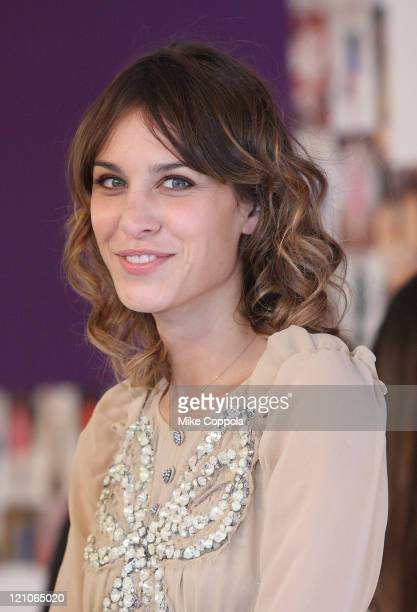 Television personality Alexa Chung attends the 2010 CFDA Fashion Awards at Alice Tully Hall, Lincoln Center on June 7, 2010 in New York City.