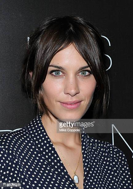Television personality Alexa Chung attends the book celebration for Makeup Your Mind Express Yourself by Francois Nars at Cedar Lake on May 24 2011...