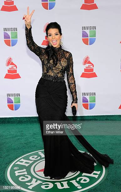 Television personality Alexandra Rodriguez arrives at the 12th annual Latin GRAMMY Awards at the Mandalay Bay Resort Casino on November 10 2011 in...