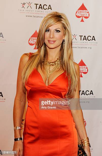 Television personality Alexis Bellino attends the AnteUp for Autism Event at St Regis Monarch Beach Resort on November 5 2011 in Dana Point California