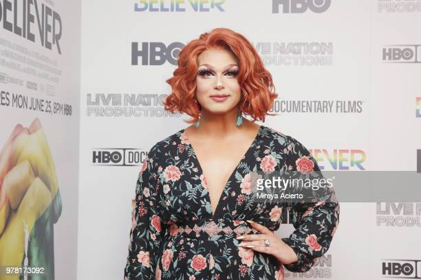 Television personality Alexis Michelle attends the Believer New York Premiere at Metrograph on June 18 2018 in New York City