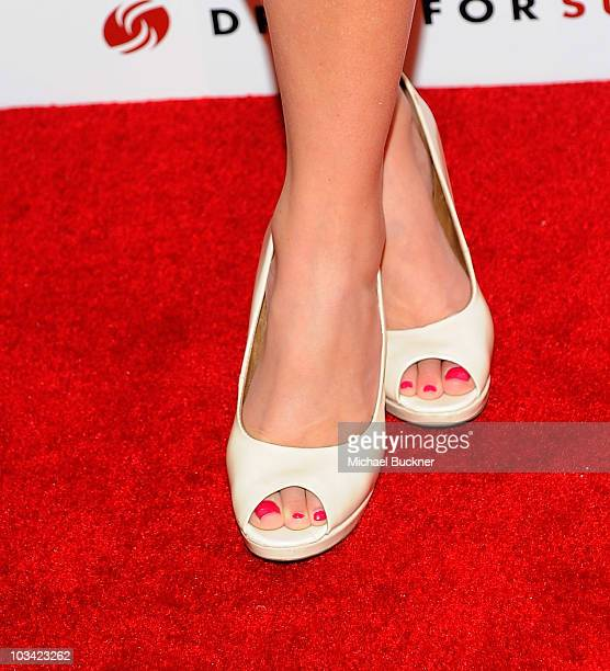 """Television personality Ali Fedotowsky arrives at the 2nd Annual """"Give & Get Fete"""" at the SoHo House on August 16, 2010 in West Hollywood, California."""