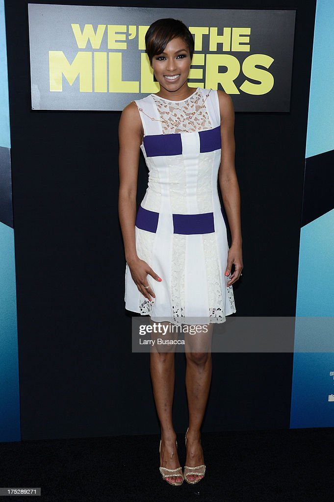 Television personality Alicia Quarles attends the 'We're The Millers' New York Premiere at Ziegfeld Theater on August 1, 2013 in New York City.
