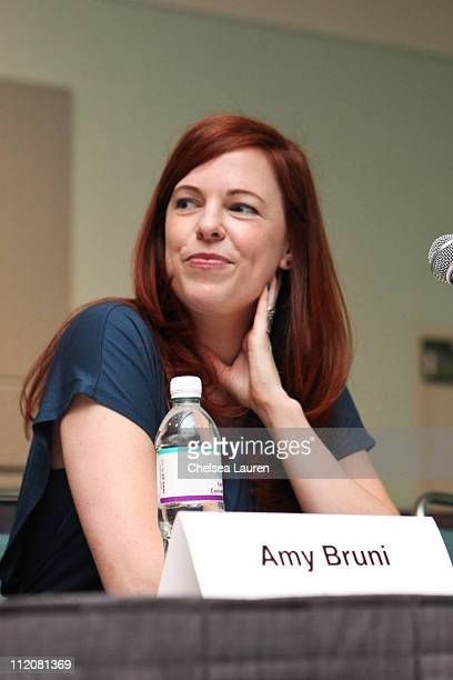 Television personality Amy Bruni attends day 1 of the Reality Rocks Expo at Los Angeles Convention Center on April 9 2011 in Los Angeles California