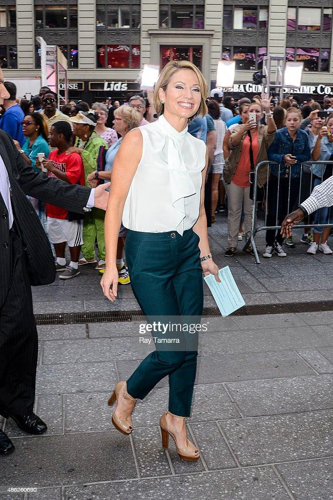 Celebrity Sightings In New York City - September 02, 2015 : News Photo