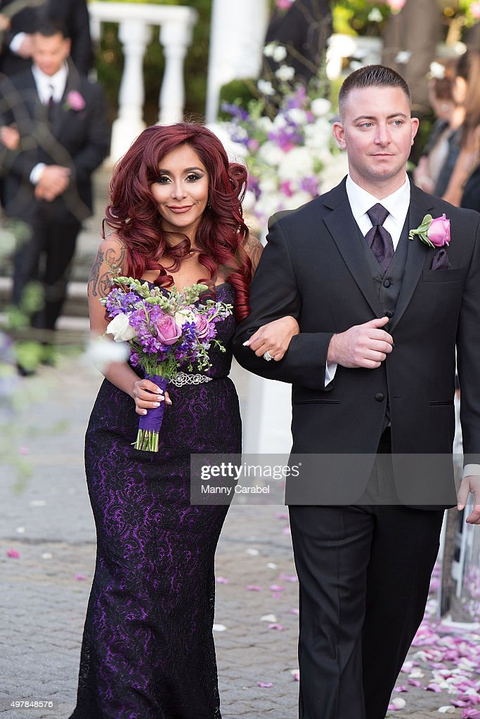 Television Personality And Bridesmaid Nicole Snooki Polizzi Attends The Wedding Of Personalities Jenni